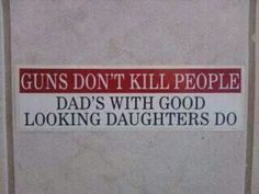 Funny and or stupid signs about guns. Funny signs about the second amendment. Funny signs and quotes about gun control. Great Quotes, Quotes To Live By, Funny Quotes, Awesome Quotes, Quotable Quotes, Inspirational Quotes, I Smile, Make Me Smile, Daughter Quotes