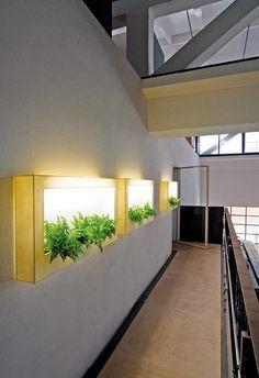Плоские вазоны с LED подсветкой | Design-Review.info - Современный дизайн / Modern Design