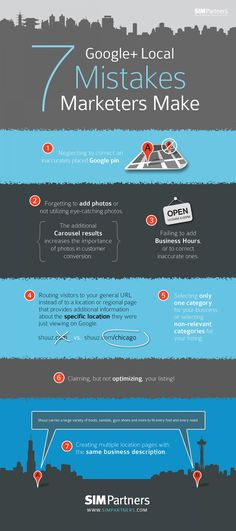 7 Google+ Local Mistakes Marketers Make