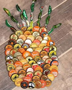 This obsession we have with pineapples has just got to stop!!! But NOT today!!! Thanks @tresdriftshop for delivering us just what we asked for  Open July 8th ~ 17th @ 209 West St! #hereapopupshop #pineapples #obsessed #still #bottlecaps #thatisonefineapple #didyouknowflamingosarenext