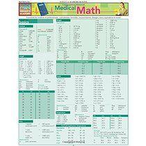 Medical Math (Quickstudy: Academic)