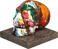 """""""Skull""""  sculpture, work of art, Skulptur, Kunstwerk"""