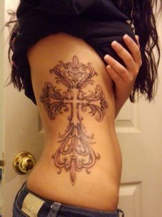 Full length side tattoo! Love!