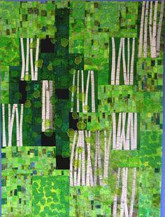 Aspens 3, 2006, by Brenda Smith at The Brush Art Gallery (Lowell, Massachusetts)