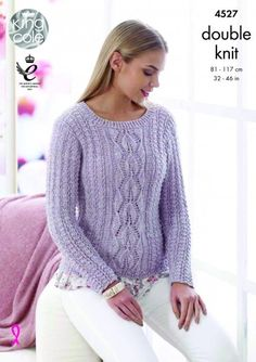 Cardigan and Sweater in King Cole Authentic - 4527 - Leaflet. Discover more patterns by King Cole at LoveKnitting. The world's largest range of knitting supplies - we stock patterns, yarn, needles and books from all of your favourite brands.