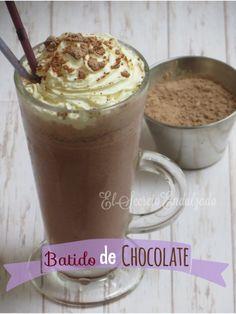 Batido de Chocolate  - elsecretoendulzado.blogspot.com.es