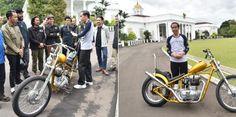 Pamer Moge Baru, Jokowi Dorong Anak Negeri Terus Berkarya