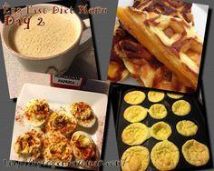 Egg Diet Menu Day 2 #eggfast #ketowoman #keto