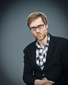 it is impossible not to love stephen merchant.  photo by jules heath.