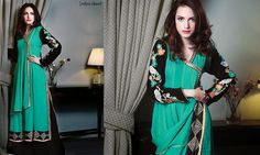 Zahra Ahmad New Casual Wear Winter Dresses Collection 2014 For Women And Girls