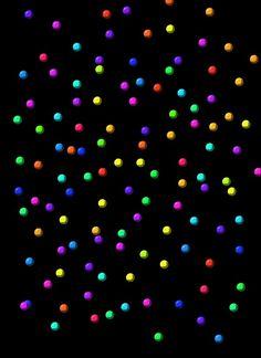 It is raining gum balls!