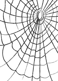12 Free Halloween Printables Including Free Digital Stamps and Templates: Cobweb Paper