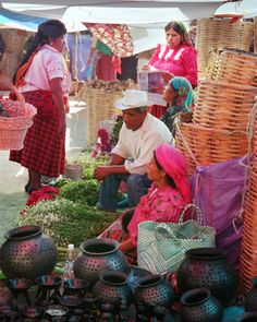 Tlacolula market, Oaxaca, Mexico - one of the oldest markets in Mesoamerica