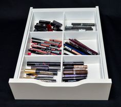 App Drawer Organizer Inspiration Palette Drawer Organizer Fits Ikea® Alex Drawer Units  Makeup Decorating Inspiration