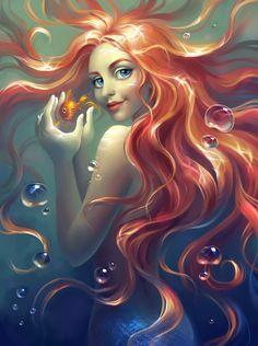 Mermaid by Elena Berezina