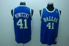 Mitchell and Ness Mavericks  41 Dirk Nowitzki Embroidered NBA Blue  Throwback Jersey! Only  20.50 00b40553b