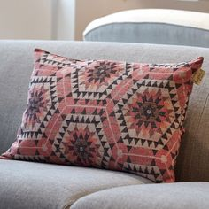 Rose Honeycomb Cushion - Cushions & Throws - Treat Your Home - Home Accessories