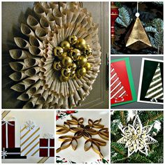 DIY: Christmas Paper Craft Projects