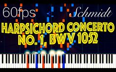 Harpsichord Concerto No. 1 in D minor, BWV 1052 // J. S. Bach (Synthesia...
