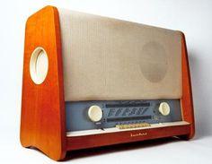 "DDR-Radio ""Berolina K"" by VEB Stern-Radio Berlin 1957 East German - den hatten wir! -"