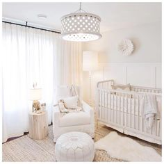When an e-design client sends over @jillian.harris' nursery for inspiration, you know this is going to be a fun project!!! #joblove…