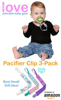 Take $5 OFF using 5LLPROMO promocode. Lilly's Love Adorable 3Pac Pacifier Clips
