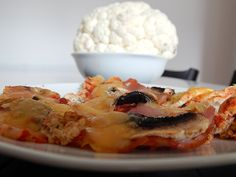 Pizza na cieście kalafiorowym