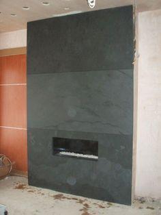 Slate fireplace | fireplace | Pinterest | Slate fireplace, Slate ...