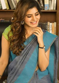 Samantha Ruth Prabhu (aka) Actress Samantha high quality photos stills images & pictures Samantha In Saree, Samantha Ruth, South Actress, South Indian Actress, Most Beautiful Indian Actress, Beautiful Actresses, Tamil Actress, Bollywood Actress, Actress Anushka
