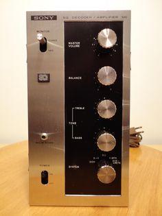 SONY SQA-100 SQ Discrete Miniature Stereo 4-Channel Quad Quadraphonic Amplifier TA-88 ST-80 ST-80F ST-88 SS-5088 photo SONYSQA-100SQDiscreteMiniatureStereo4-ChannelQuadQuadraphonicAmplifierTA-88ST-80ST-80FST-88SS-50884.jpg