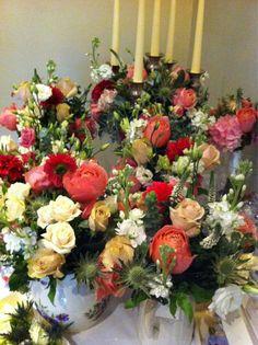 A beautiful Flower display