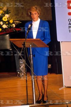 October 25 1988 Princess Diana Patron Of The Child Accident Prevention Trust Attending The Annual General Meeting In London. at Wigmore Hall