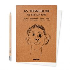 A5 sketch pad