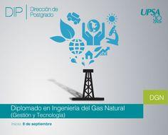 UPSA: Diplomado en Ingeniería del Gas Natural (Gestión y Tecnología), inicio 8 de septiembre