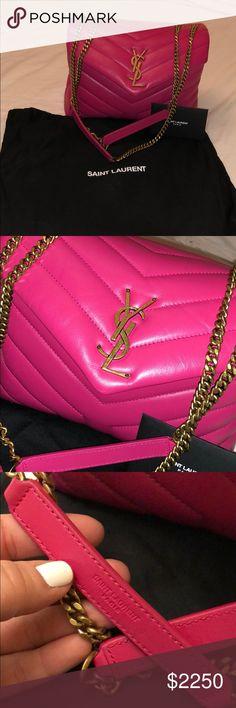 f71910f74e RARE COLOR YSL LOULOU BAG 100% authentic and gorgeous YSL LOULOU bag. RARE  color