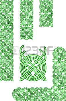 Celtic ornament elements photo