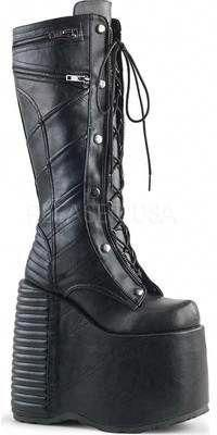 a2736dc2503 Demonia Slay 320 Knee-High Lace-Up Platform Boot (Women s)  Highheelboots