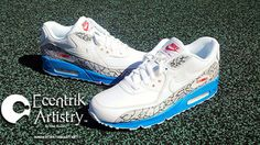 buy popular 6497f 64100 Blue Air Max, Air Max 90, Guy Style, Gears, Style For Men