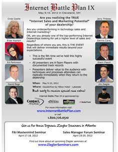 Flyer for Internet Battle Plan IX in Cleveland next to the rock n' Roll Hall of Fame... JamesAZiegler.com