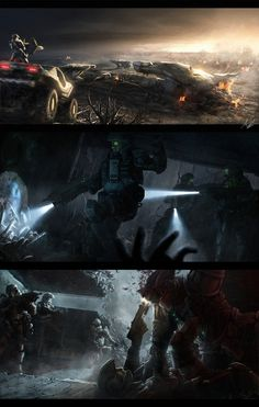 An awesome Halo artwork by *AdamBurn on deviantART Odst Halo, Halo Game, Halo 3, Halo Armor, Halo Spartan, Halo Collection, Halo Master Chief, Halo Series, Halo Reach