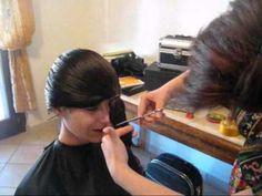 Taglio di capelli pari fai da te