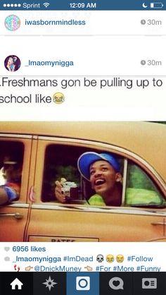 They do that lmfaoo <<<< I'm a freshman, but I already feel like an older grade. I pretty much am.