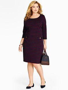 Plus Size Dresses | Talbots Woman Plus