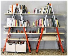 15 Easy and Wonderful DIY Bookshelves ideas 6