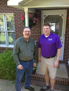 Peter Cogan and his team at Window Genie Charlotte cleaned Raphael's home's windows and gutters for free! Raphael is the first of many local veterans to receive a big 'thank you for your service!' from Window Genie Charlotte!