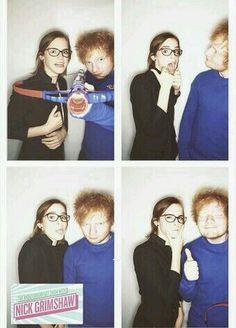 Ed and Emma Watson ♡