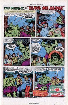 Hostess Fruit Pie Ad, featuring the Hulk, 1978