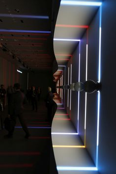 Light Experience, iGuzzini Illuminazione Stand at Light + Building 2016 –…