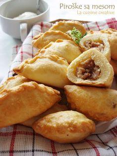 La cuisine creative: Piroške sa mesom
