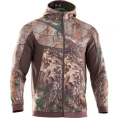 Under Armour Mens Ayton Camo Hooded Jacket - Mills Fleet Farm